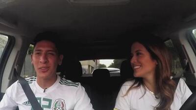 Edson Álvarez le contó a Adriana Monsalve cómo llegó al fútbol