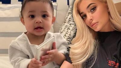 """Las primeras palabras que Kylie Jenner quiere que su bebé diga no son """"mamá"""" ni """"papá""""... son una marca"""