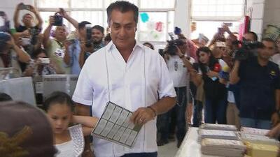 El candidato independiente por la presidencia de México Jaime Rodríguez Calderón es el último en votar