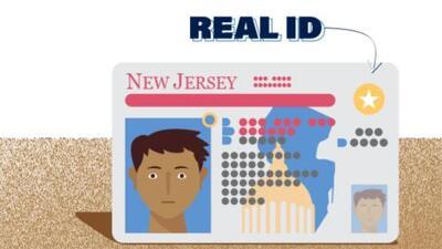Conductores de Nueva Jersey deben solicitar cita para obtener el nuevo Real ID