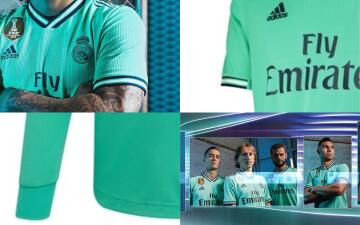 Real Madrid lanza su uniforme alternativo para la temporada 2019-20