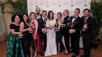 Estos son los reportajes de Univision 23 que fueron galardonados con un premio Emmy