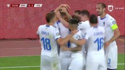 ¡GOOOL! Leonardo Bonucci anota para Italy
