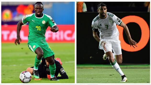 Senegal de Mane y Argelia de Mahrez, a la final de Copa Africana