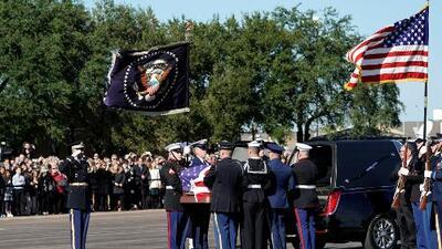 Houston se prepara para despedir con honores al expresidente George H. W. Bush