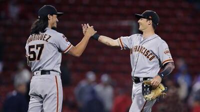 Giants y Red Sox empatan récord en la MLB
