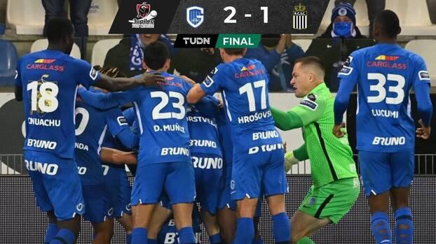 Gerardo Arteaga vuelve a jugar y el Genk derrota al Charleroi