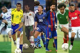 ¡Izquierdas de oro! Los mejores futbolistas zurdos de la historia