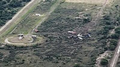 Mal tiempo pudo haber sido la causa del accidente aéreo en Durango, México