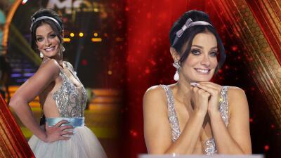 ¡Abran paso a la princesa! Dayanara Torres cautivó 😍 al público de MQB