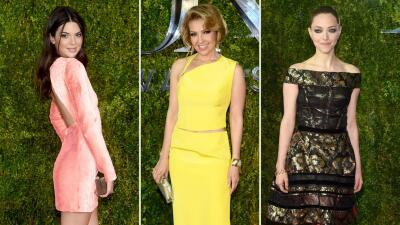 Belleza y elegancia en la alfombra roja de los Tony Awards