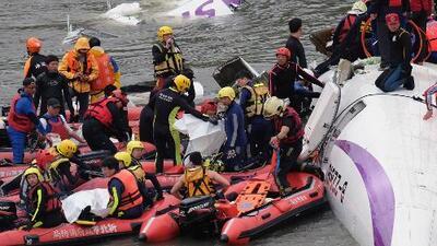 ¿Cómo fue el accidente del avión en Taiwán?