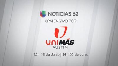 El noticiero de Univisión 62 se mueve durante unos días a UniMás