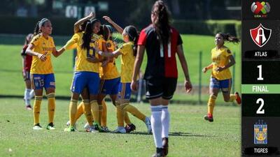 Tigres va hacia el Bicampeonato, vence a Altas Femenil en la Ida de Cuartos