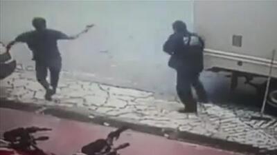 A tiros, así terminó un ajuste de cuentas entre un vendedor y un sujeto en México