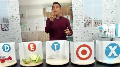 Cinco consejos de Alejandro Chabán para limpiar tu organismo y bajar de peso