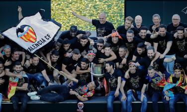 ¡Júbilo en Valencia! Así fue la celebración del título de la Copa del Rey
