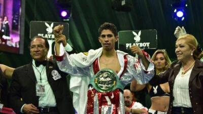 Rey Vargas lució y quiere un cinturón universal