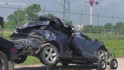 """""""Tienen un mes aquí, son de Honduras"""": detective sobre la familia de la niña que murió en un accidente en Houston"""