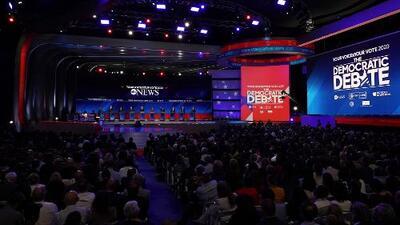 """""""Fue una experiencia inolvidable"""": estudiantes cuentan cómo vivieron el debate demócrata en Houston"""