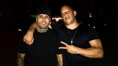 ¡Vin Diesel fue a la boda de Nicky Jam!