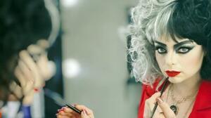Violeta Isfel se transforma en 'Cruella' para rendir homenaje a Emma Stone