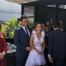Doble celebración: boda y cumpleaños para Juan Diego Covarrubias