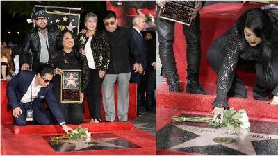 Hermana de Selena explica si fue grosera con el viudo de la cantante en el homenaje de Hollywood