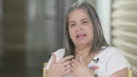 Patricia Andrade, una inmigrante venezolana que dedica su vida a ayudar a los refugiados de su país