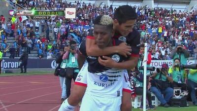 Gabriel Cortez marcó el 2-0 de Lobos BUAP sobre Veracruz