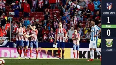 Diego Reyes juega los 90' y el Leganés se queda cerca de arrebatarle el empate al Atlético