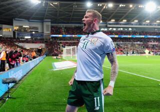 Bale se quedó sin Mundial: Gales cayó en casa con Irlanda que jugará el repechaje