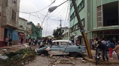 Tornado en Cuba deja al menos tres muertos y 180 heridos