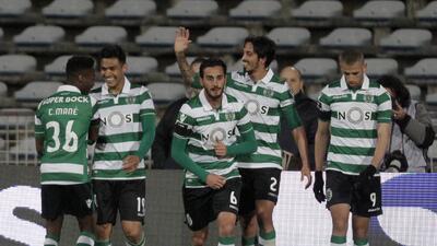 Belenenses 2-5 Sporting: El Sporting golea y sigue al acecho del Benfica