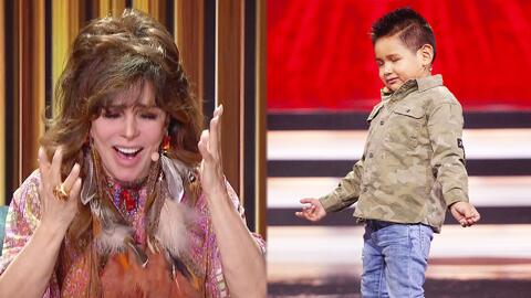 Giovanni se entrega al sentimiento y encanta a Verónica Castro al bailar con los ojos cerrados