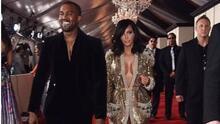 Kim, Kanye y su beso más candente