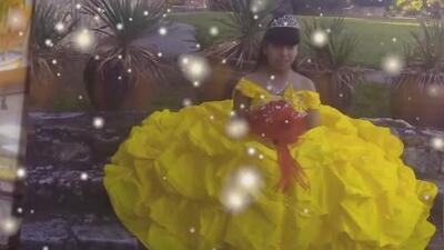 Niña de 14 años adelanta su fiesta de quince años tras ser diagnosticada con enfermedad terminal
