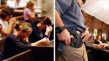 Derecho a portar armas en más iglesias de NC: la legislatura que sólo espera la firma o veto de Cooper