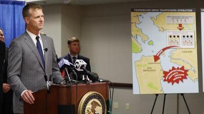 Federales desmantelan red de narcomenudistas hondureños que vendían drogas en San Francisco