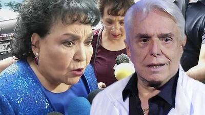 "Carmen Salinas recuerda que a Enrique Guzmán lo mostraron como un ""golpeador"" en la serie de Silvia Pinal"