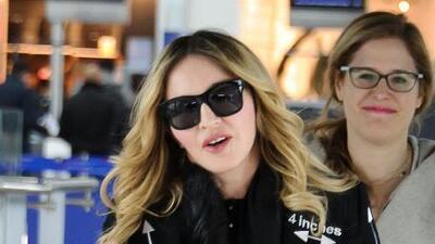 Madonna se reencontró con su hijo Rocco