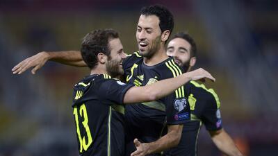 Macedonia 0-1 España: La Roja gana 'sin querer' y está muy cerca de amarrar boleto a Euro