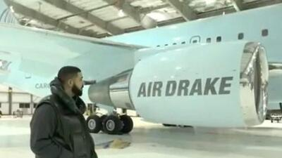 Drake says he got his jet for free