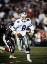 Recuerdo de los 2 Super Bowls Cowboys-Bills