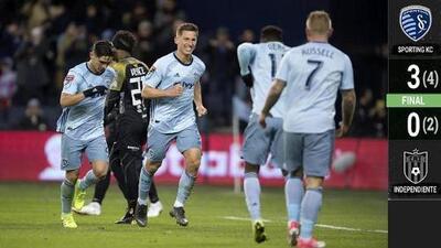 Sporting KC goleó a Independiente y enfrentará a Rayados en Semis