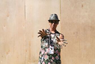 Robert Vargas y su arte en Uforia Festival
