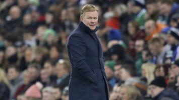 Ronald Koeman se muda a Barcelona y levanta sospechas