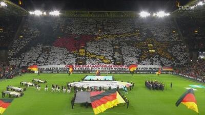 ¡Imponente! Aficionados de Alemania mandan recuerdito a los argentinos