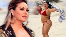 """Chiquis Rivera envía mensaje a los paparazzi orgullosa y con """"muchos"""" pretendientes """"en fila"""""""