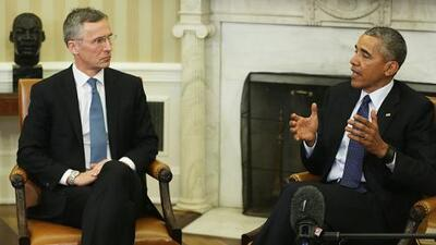 Obama defiende a la OTAN